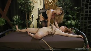 Lesbians share the lustful femdom moments in premium angles