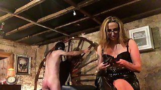 Involving Fun With Spanky bdsm bondage slave femdom domination