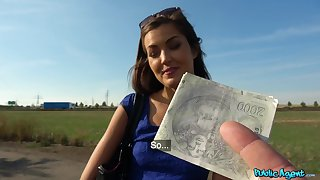 Full move in outdoor POV be advisable for a cute amateur Czech girl