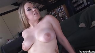 Kiara Marie is sucking a fat, black dick like a real pro, before acquiring it inside her