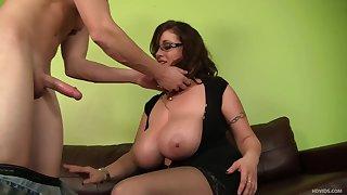 Eva Notty dates with horny big-dicker