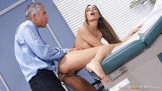 Pollute does outstanding things to Desiree Dulce's stunning pussy
