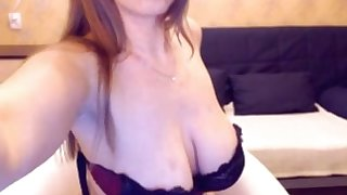 Russian webcam generalized shows her influential natural big tits