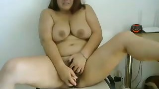 This BBW whore looks so dazzling coupled with she loves to masturbate out of reach of webcam
