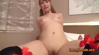 I Fuck little Asian Pulchritude Home alone