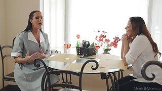 Elexis Monroe and Texas Patti drop their clothes for lesbo sexual congress