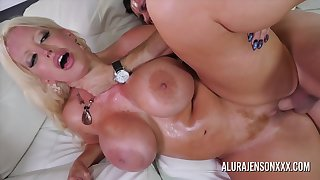 Gigantic Tits Grouchy Cougar Rough Sex With Brad Knight And Alura Jenson